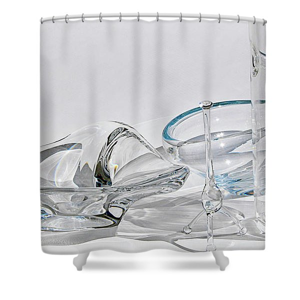 A Glass Menagerie Shower Curtain