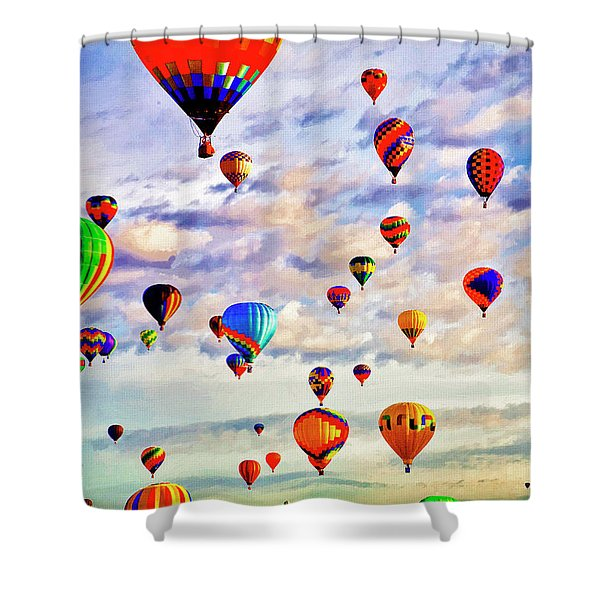 A Great Day To Fly Shower Curtain