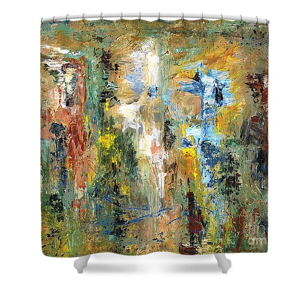 A Herd Of Five Shower Curtain