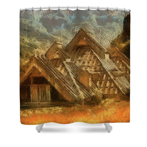 A Home To Love Shower Curtain