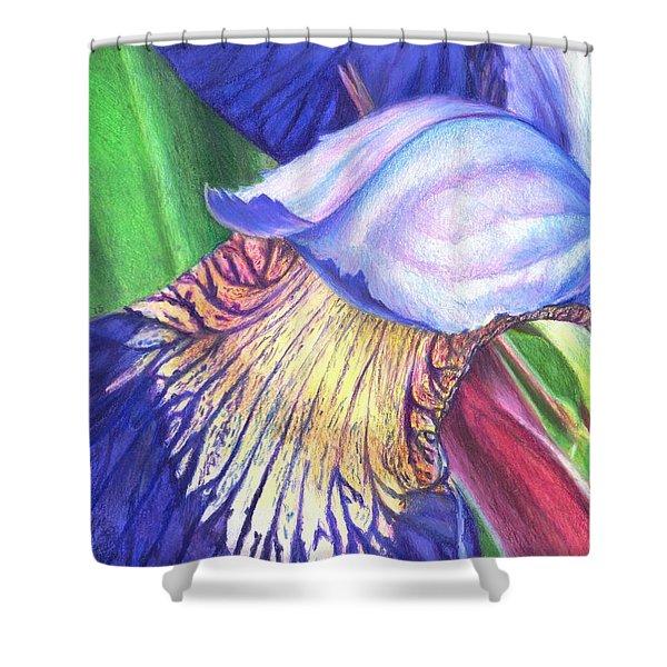 A Kiss From Iris Shower Curtain