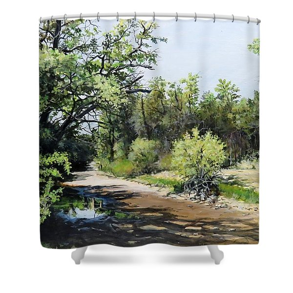 A Last Drink Shower Curtain