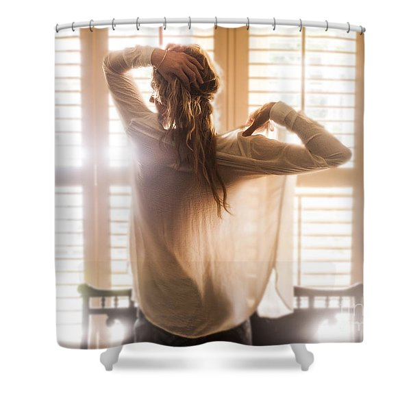 A Little Bit Country Shower Curtain