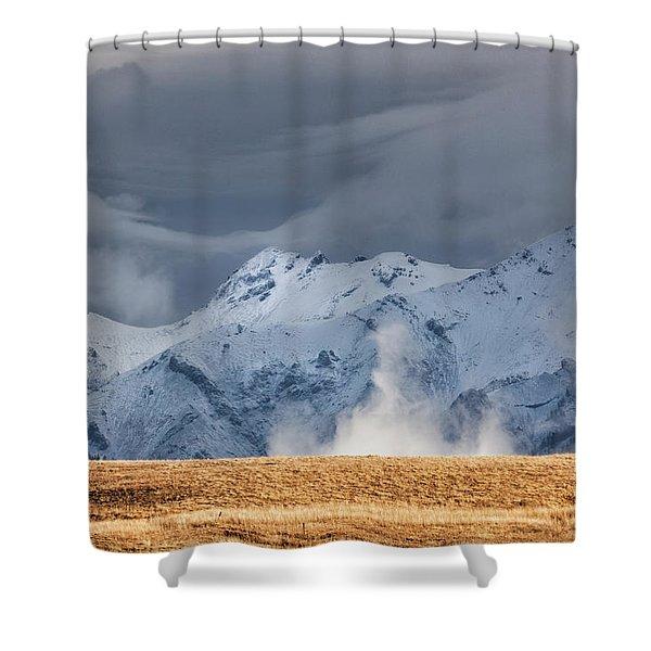 A Little Gust Shower Curtain