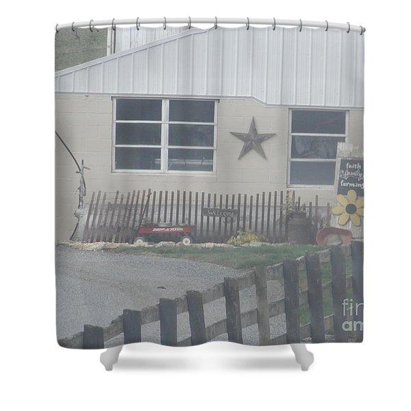 A Local Farm Shower Curtain
