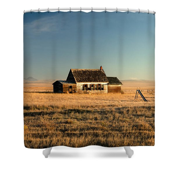 A Long, Long Time Ago Shower Curtain
