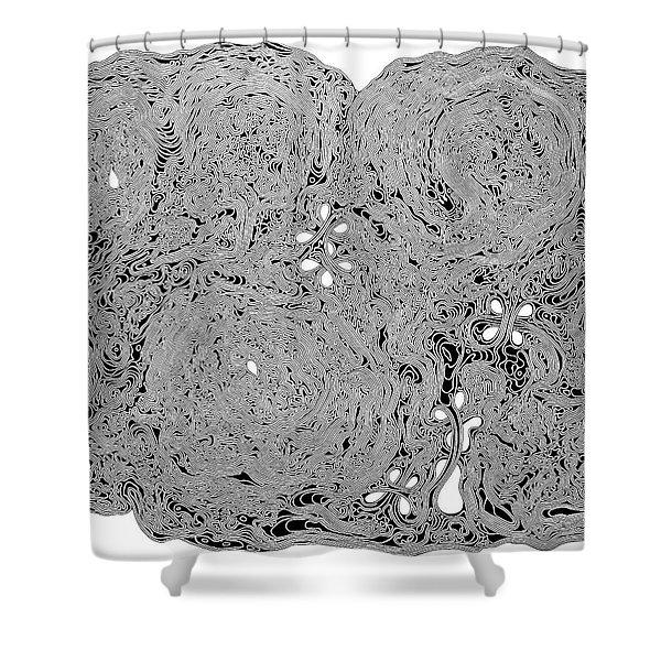 A-maze-ing Shower Curtain