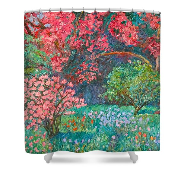 A Memory Shower Curtain