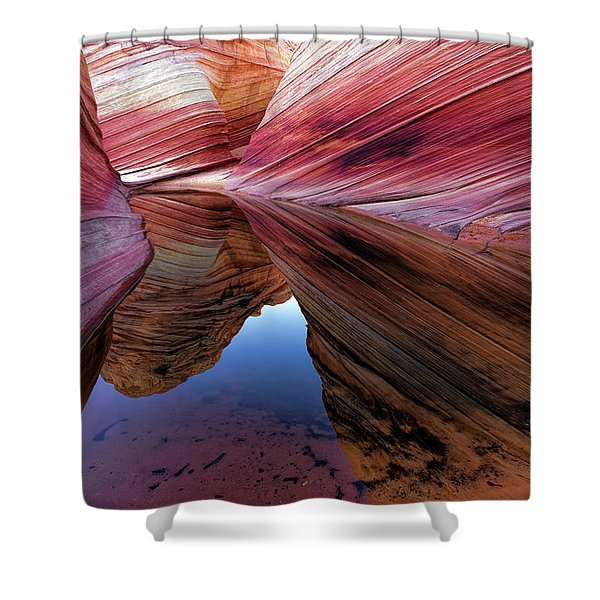 A Moment To Reflect Shower Curtain