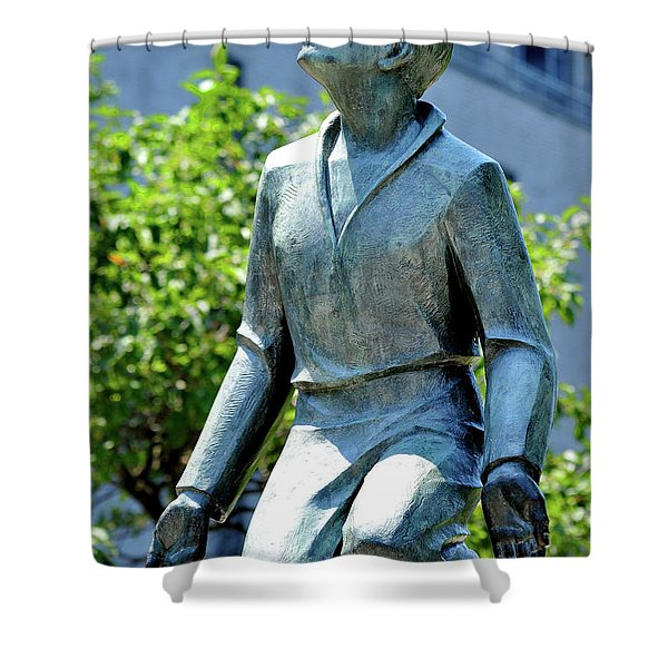 A Monument To Religion Shower Curtain