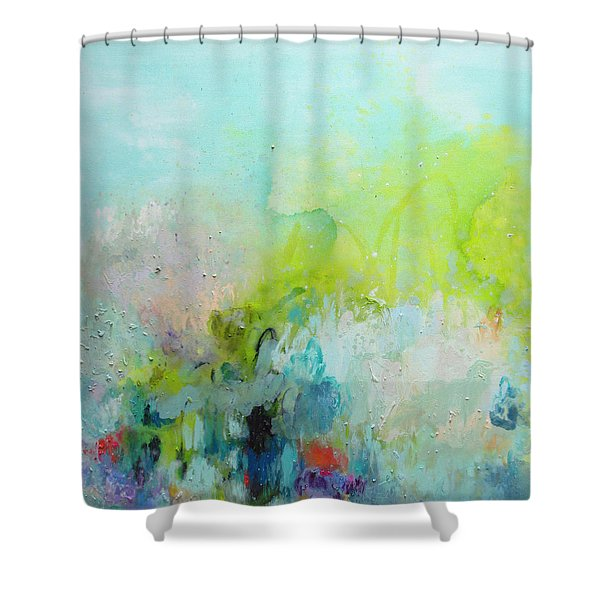 A Most Delicate Situation Shower Curtain