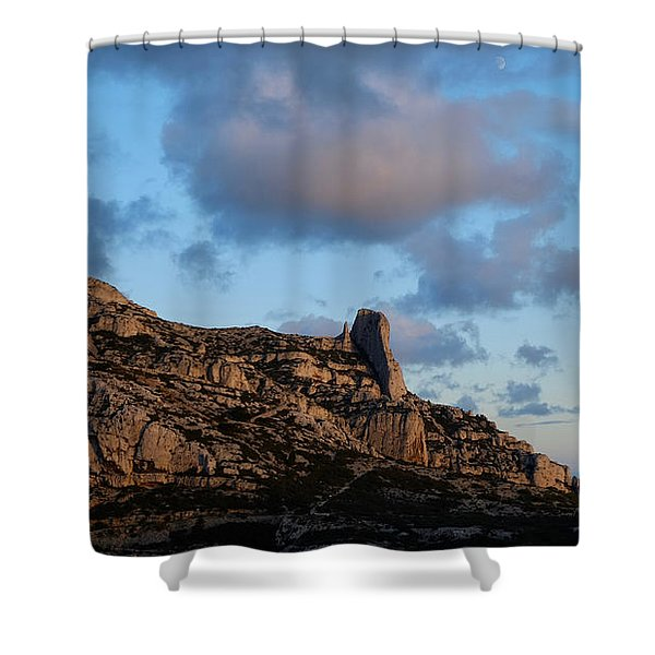 A Mountain With A View Shower Curtain