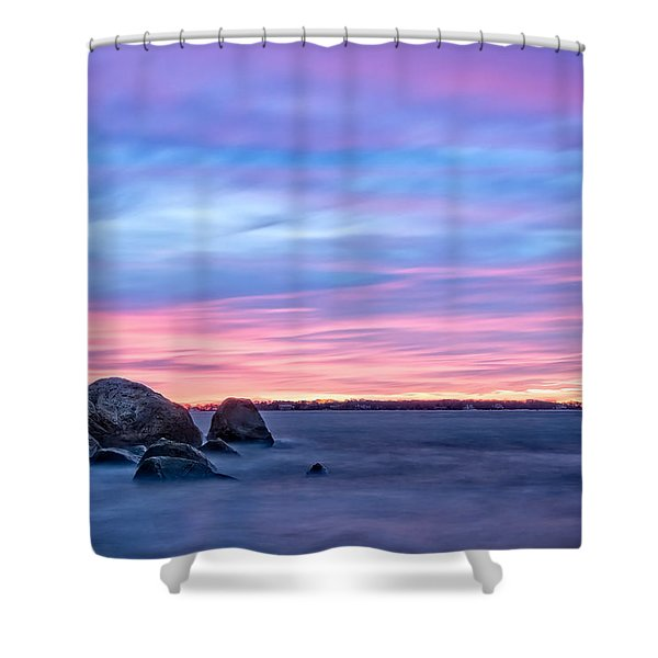 A New Dawn Gloucester Shower Curtain
