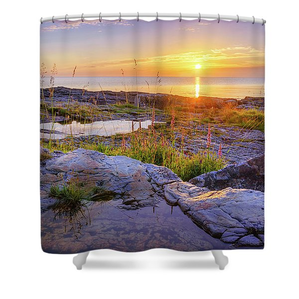 A New Day's Born Shower Curtain