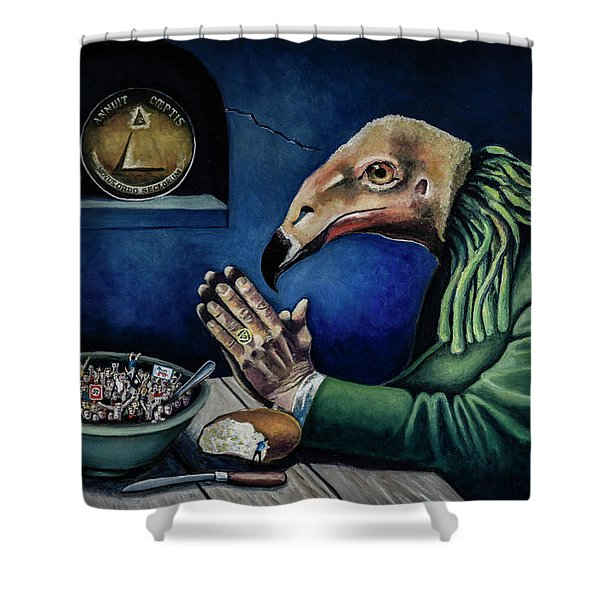 A New Order Shower Curtain