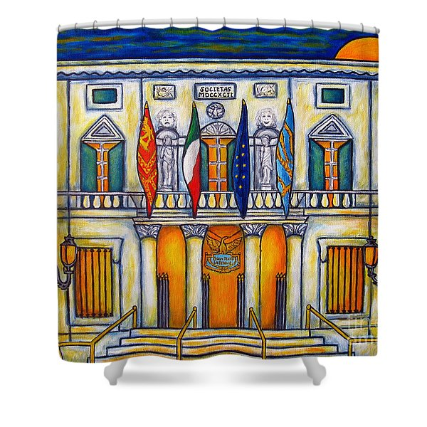 A Night At The Fenice Shower Curtain