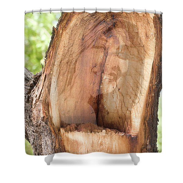 A Nymph In Every Tree Shower Curtain