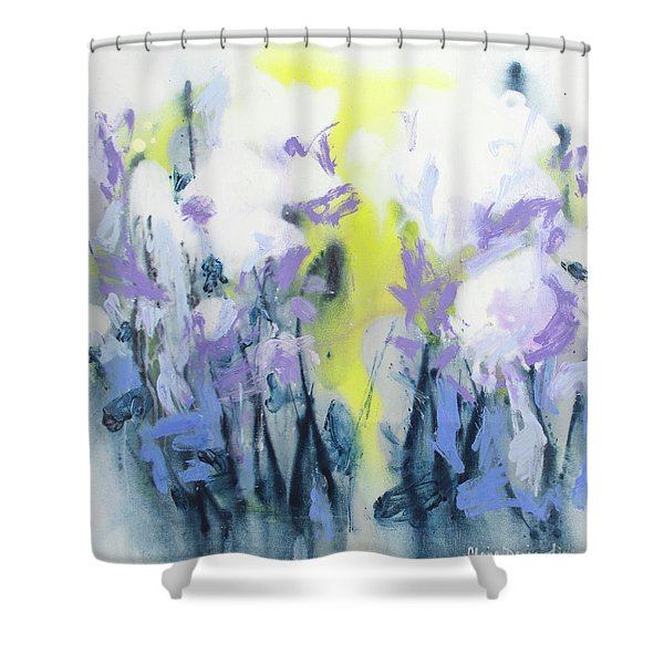 A Patch Of Purple Shower Curtain