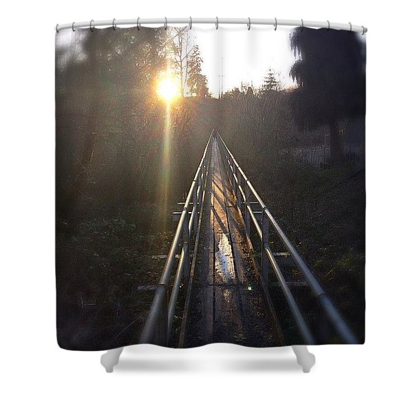 A Path Into The Unknown Shower Curtain