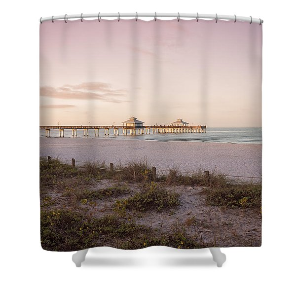 A Peaceful Morning Shower Curtain