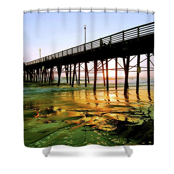 A Perfect Place Shower Curtain