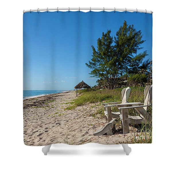 A Place In The Sun Shower Curtain