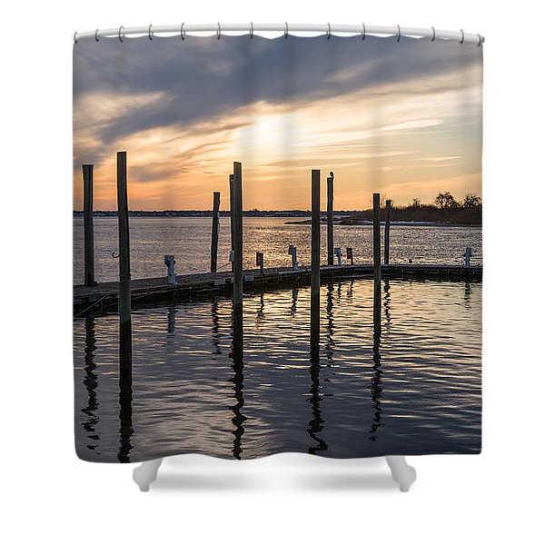 A Place On The River Shower Curtain