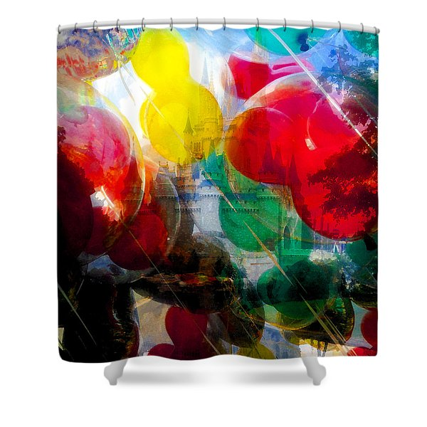 A Place So Magical Shower Curtain