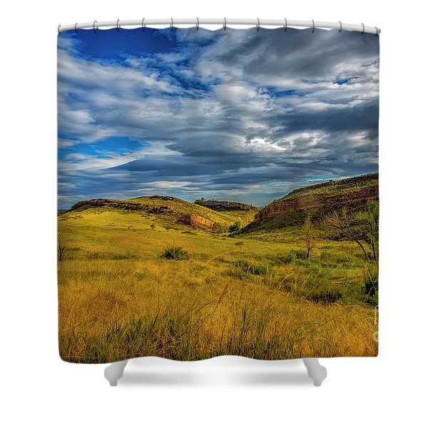 A Place To Hike Shower Curtain