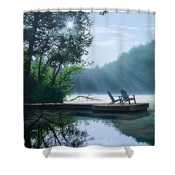 A Place To Ponder Shower Curtain