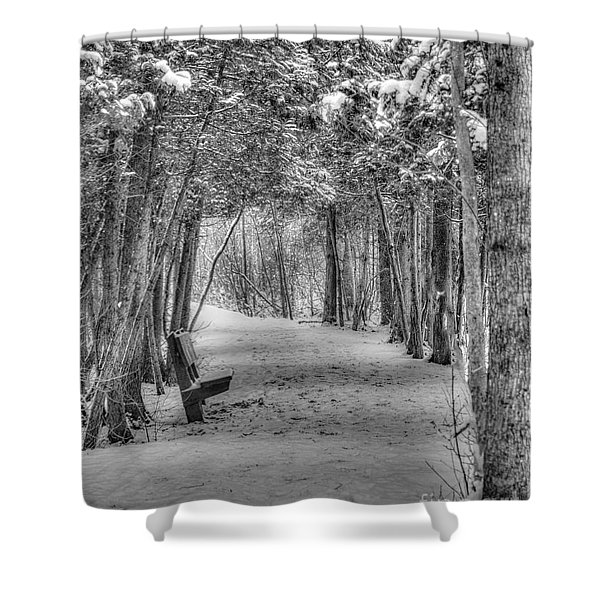 A Place To Rest Shower Curtain