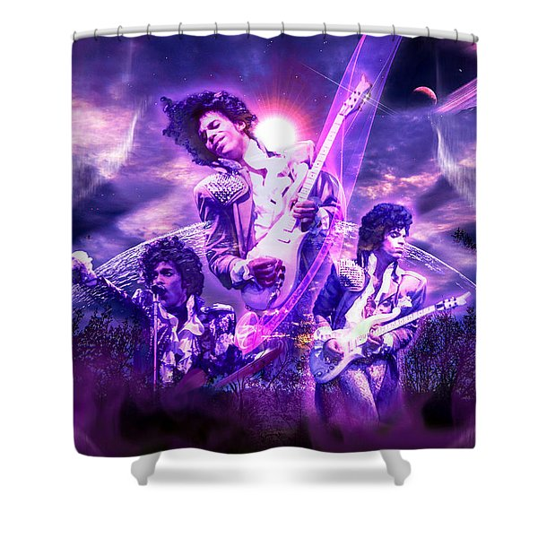 A Prince For The Heavens  Shower Curtain