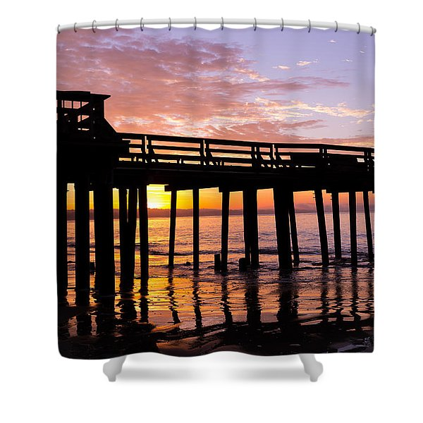 A Quiet And Beautiful Start Shower Curtain