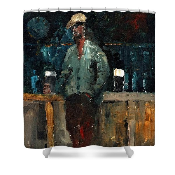 F 772  Holy Hour A Pint And A Spare. Shower Curtain