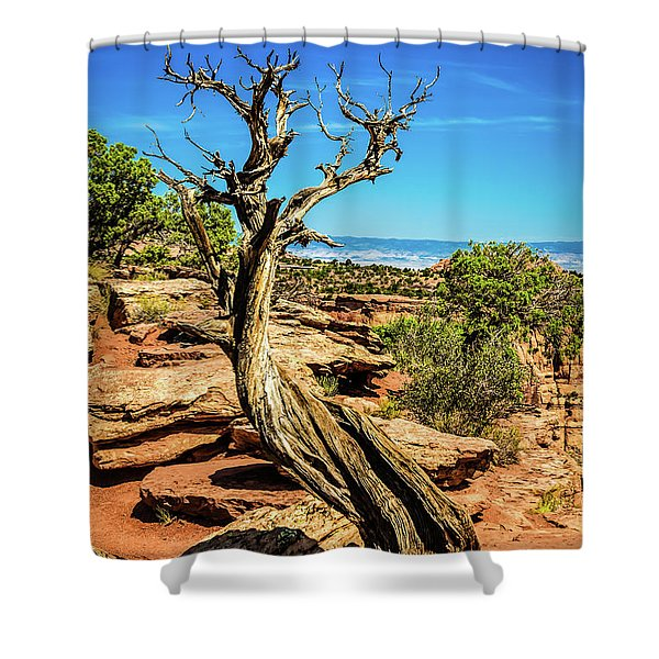 A Really Tough Life Shower Curtain