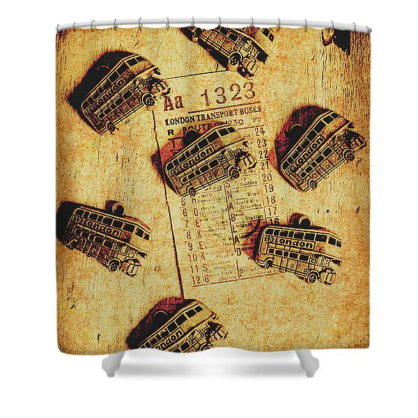 A Return To Old London Shower Curtain