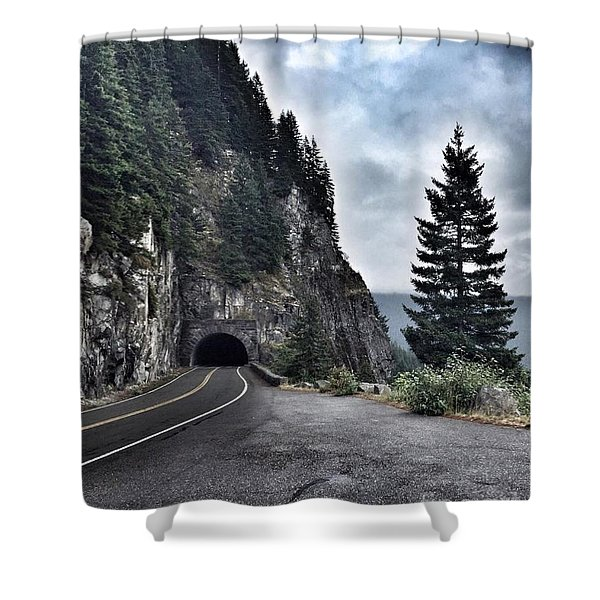 A Road To Nowhere Shower Curtain