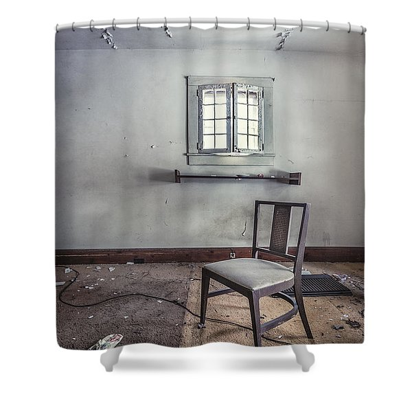 A Room For Thought Shower Curtain