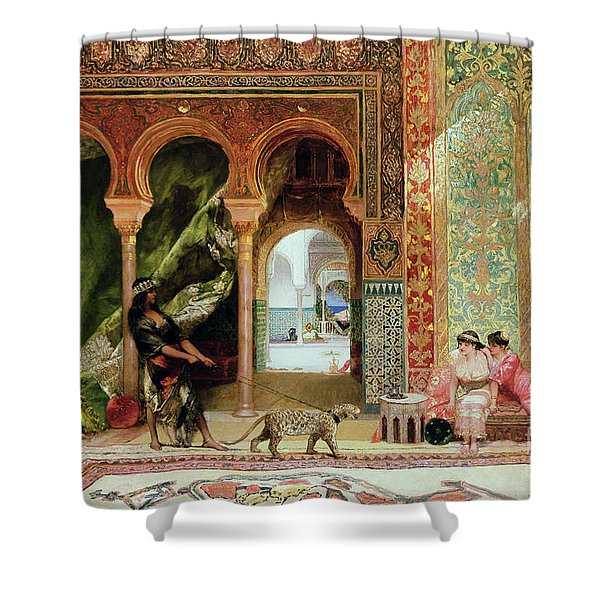 A Royal Palace In Morocco Shower Curtain