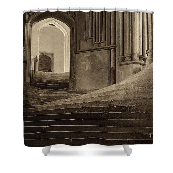 A Sea Of Steps Shower Curtain
