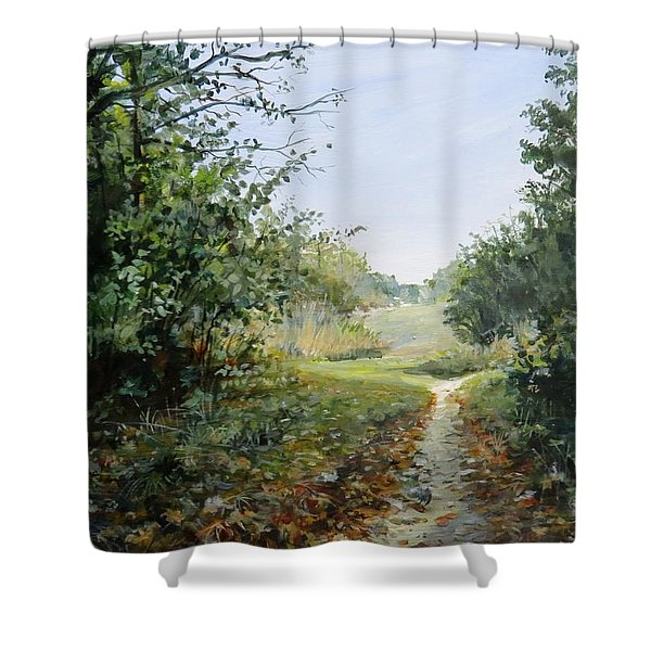 A Search Shower Curtain