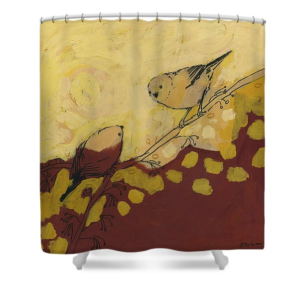 A Short Pause Shower Curtain