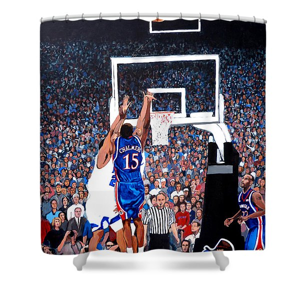 A Shot To Remember - 2008 National Champions Shower Curtain