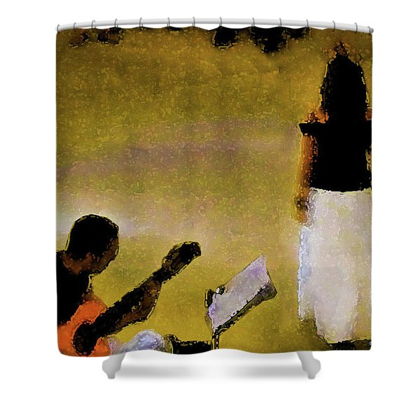 A Song Shower Curtain