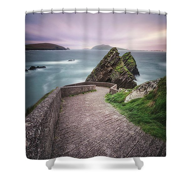 A Song For Ireland Shower Curtain