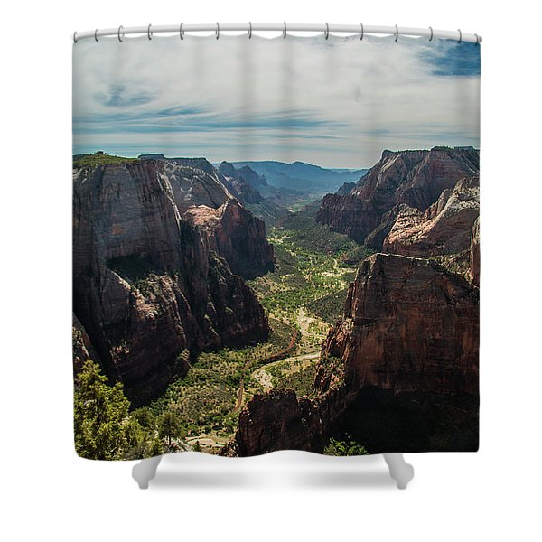 A Storm Is A' Brewing Shower Curtain