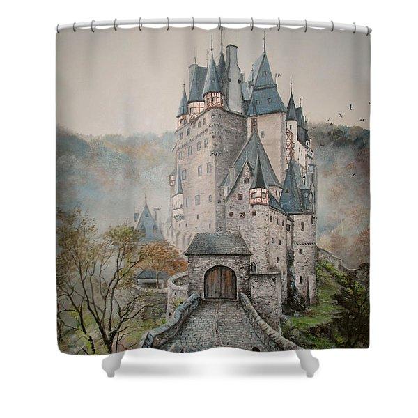 A Story At Eltz Castle Shower Curtain