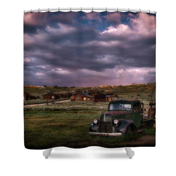 A Summer Evening In Bodie Shower Curtain