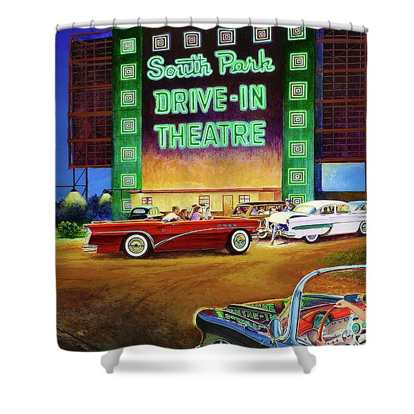 A Summer Remembered Shower Curtain