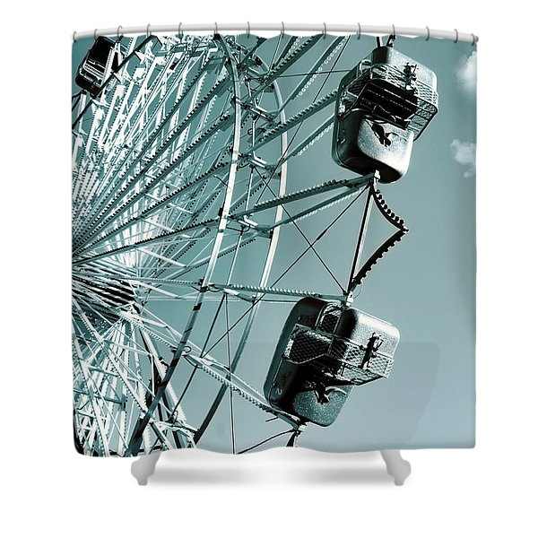 A Summer Ride Shower Curtain